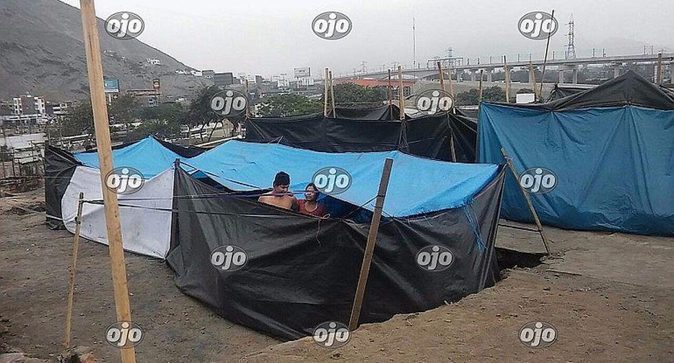 Se incrementa presencia de shipibos en carpas de Martinete (FOTOS)