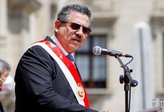 Manuel Merino cancela conferencia de prensa en el Congreso