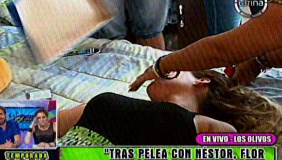 Florcita Polo se desmaya en vivo [VIDEO]