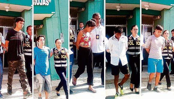 13 sujetos caen por prostituir a menores en Piura