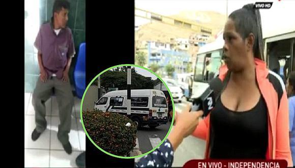 Mujer extranjera es agredida por cobrador de combi en Independencia (VIDEO)