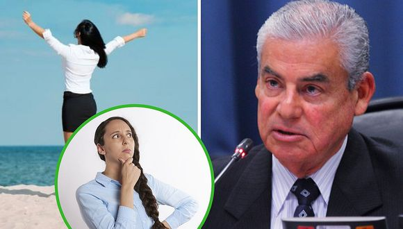 """Premier Villanueva afirma que se debe """"regular"""" las vacaciones de los trabajadores (VIDEO)"""