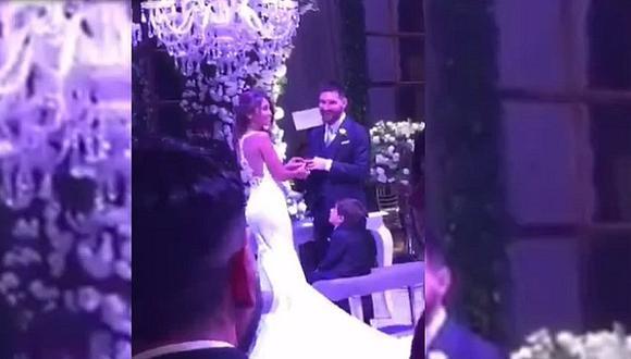 """La boda de Messi y Antonella: así lucieron al darse el """"Sí"""" frente a más de 200 invitados (FOTOS)"""