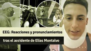 """""""Esto es guerra"""": las primeras reacciones tras el accidente de Elías Montalvo"""
