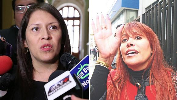 """Yeni Vilcatoma no se queda callada y nuevamente ataca a Magaly Medina: """"infórmate más"""""""