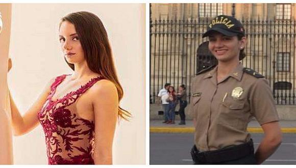 Guapa policía participa en certamen de belleza y aspira llevarse la corona (FOTOS)