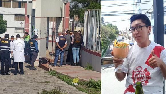 Arequipa: Hallan muerto en parque a estudiante que fue pepeado. (GEC)