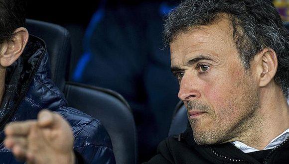 Luis Enrique anuncia que se va del Barcelona en junio próximo