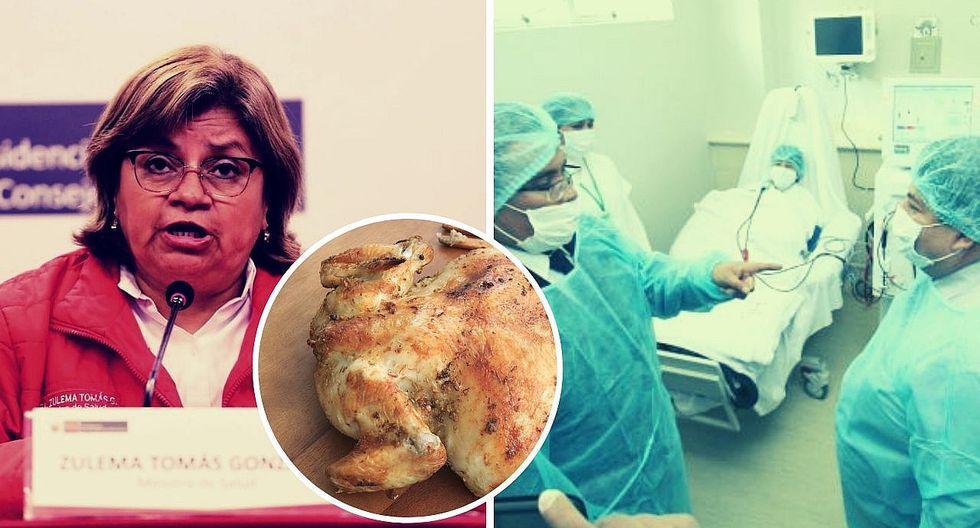 Ministerio de Salud aclara relación entre el Guillain-Barré y el consumo de pollo