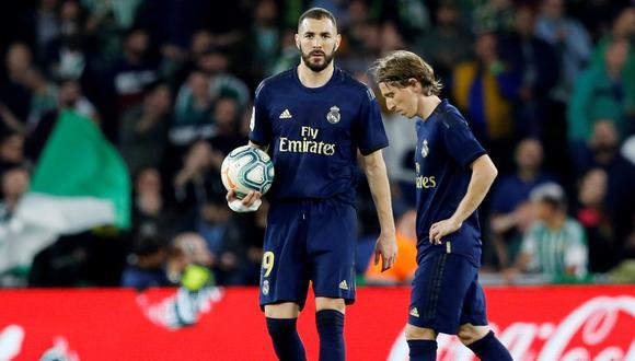 El plantel principal del Real Madrid de fútbol y otras disciplinas entraron en cuarentena por Coronavirus. (Foto: AFP)