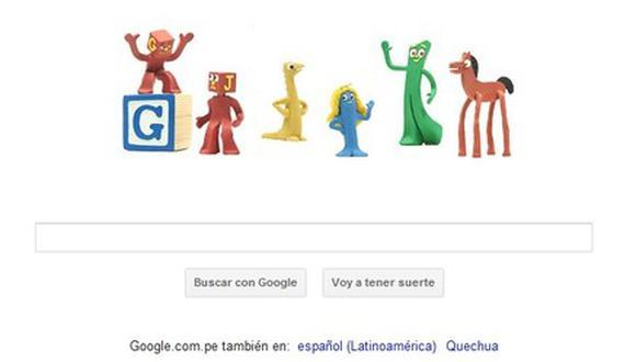 """Google dedica """"doodle"""" al creador de la animación con plastilina"""