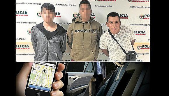 Falsos pasajeros piden taxi por aplicativo y terminan robando vehículo