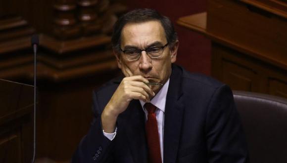 """Vizcarra niega haber recibido 'coimas': """"En investigación fiscal se aclarará la falsedad estas acusaciones"""""""