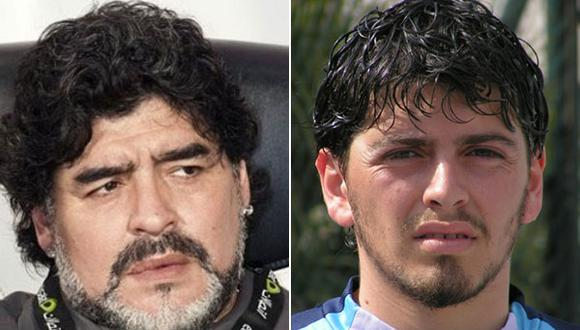 Al hijo de Maradona no le pesa el apellido y le buscan clubes de Uruguay