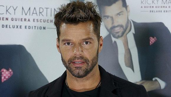 Ricky Martin tomaba sol en traje de baño y fotografiaron su lado más sexy (FOTOS)
