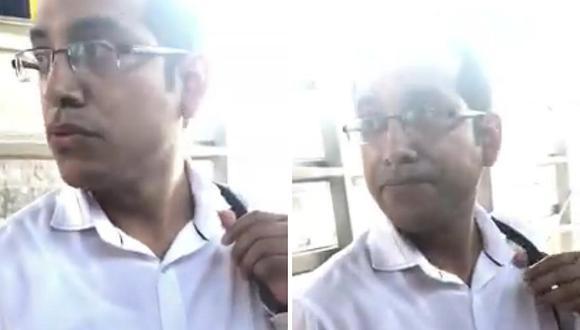 Joven denuncia que sujeto la grabó debajo de su falda en el Metropolitano (VIDEO)