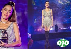 Tini Stoessel impactó con vestido de diseñador peruano en Premios Juventud │FOTOS