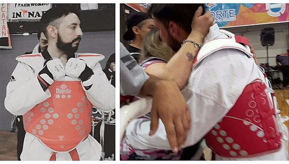 Campeón de taekwondo toma impactante decisión para que su hija tenga su quinceañero