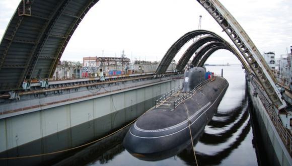 """El """"Krasnoyarsk"""" es un poderoso submarino nuclear del proyecto 885M """"Yasen-M""""."""