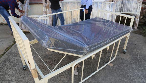 Cajamarca: Diresa recibió donación de 91 camas para hospitales regionales (Foto difusión).