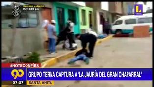 """Policía captura a """"La Jauría del Gran Chaparral"""" con 720 envoltorios de cocaína"""