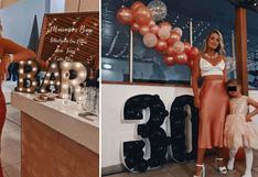 Mariana Vértiz, ex de Gino Pesaressi, celebró sus 30 años con espectacular fiesta│VIDEO