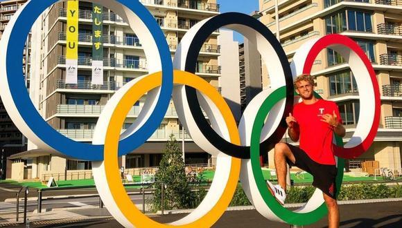 """Miguel Tudela sigue su camino en """"Tokio 2020"""" y recibe saludos de actores y más deportistas. (Foto: Instagram @migueltudelach)."""