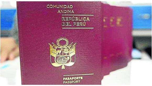 1700 huancas tramitan al mes su pasaporte en agencia de migraciones