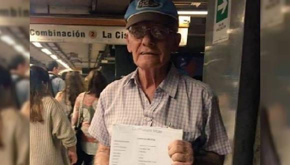 Abuelito pide trabajo urgente para poder costear enfermedades de él y su esposa