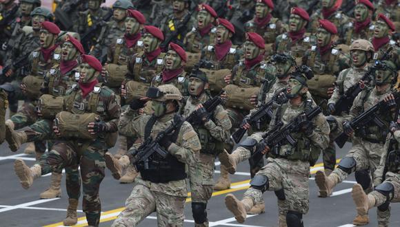Debido al creciente número de contagios, este 2020 no se llevó a cabo la tradicional Parada Militar de Fiestas Patrias. (GEC)