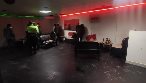 Arequipa: intervienen a más de 20 personas bebiendo licor dentro de un local en Paucarpata (Foto difusión)