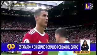Cristiano Ronaldo fue estafado por más de 288 mil euros según un medio portugués
