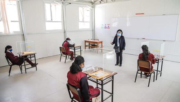 Según el presidente Francisco Sagasti, se espera el retorno a las aulas en enero del próximo año. (Foto: Andina)