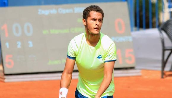 Juan Pablo Varillas ocupa el puesto 125 en el ranking ATP. (Foto: Instagram)
