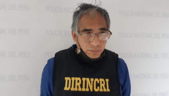El detenido Enrique Aponte Poma será investigado por el presunto delito contra el orden financiero y monetario, falsificación de billetes y monedas en agravio del Estado.