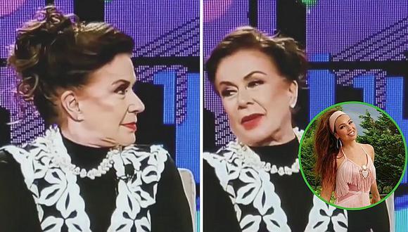 Laura Zapata abandona programa de TV al retarla a hacer el #ThalíaChallenge (VIDEO)