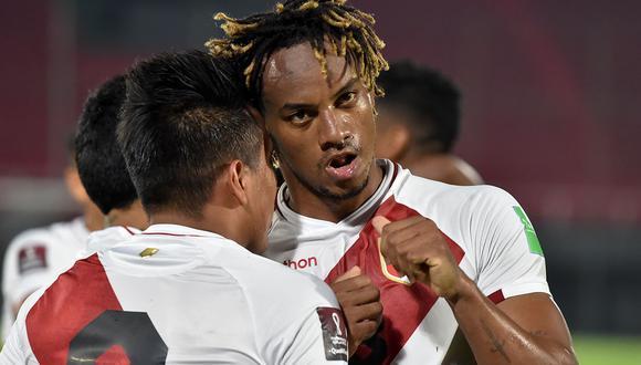 Con gol de André Carrillo, Perú vence 1-0 a Brasil por las Eliminatorias Qatar 2022 en Lima. (Foto: AFP)