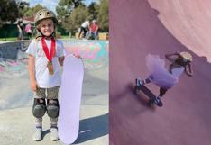 Una niña de Australia conquista Internet con sus videos virales de skateboarding a sus escasos 6 años