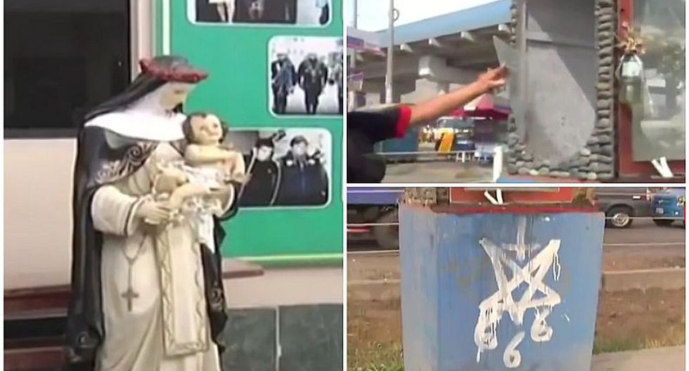 Santa Rosa de Lima: roban imagen en SJL y hacen algo macabro en santuario (VIDEO)