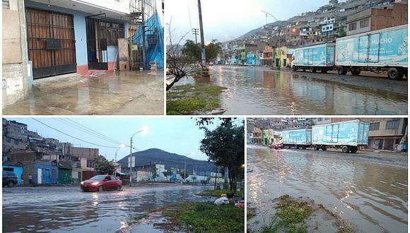 Lluvia en Lima: así amaneció la capital tras intensa precipitación de verano (VIDEOS)
