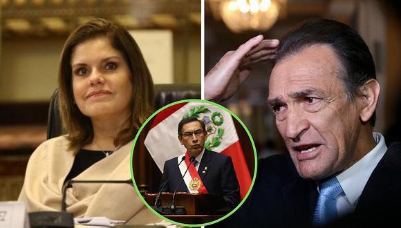 Héctor Becerril no descarta que Fuerza Popular trabaje con Mercedes Aráoz si ella asumiría la presidencia
