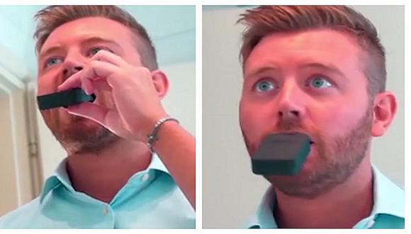 ¿Dientes limpios sin usar las manos? El increíble cepillo que ya es una realidad (VIDEO)