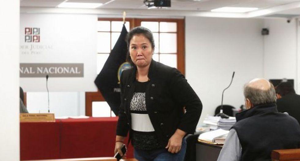 Keiko Fujimori cumple una orden de 36 meses de prisión preventiva en el marco del caso Odebrecht. (Foto: GEC)