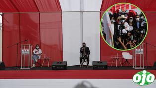 Keiko Fujimori: Suspenden debate fuera del penal Santa Mónica porque Pedro Castillo no llegó | VIDEO