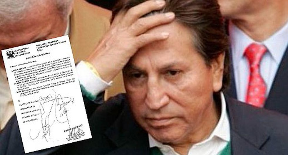 Aprobaron el pedido de extradición de Alejandro Toledo por caso Odebrecht