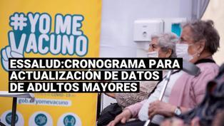 EsSalud: cronograma oficial para actualización de datos de adultos mayores