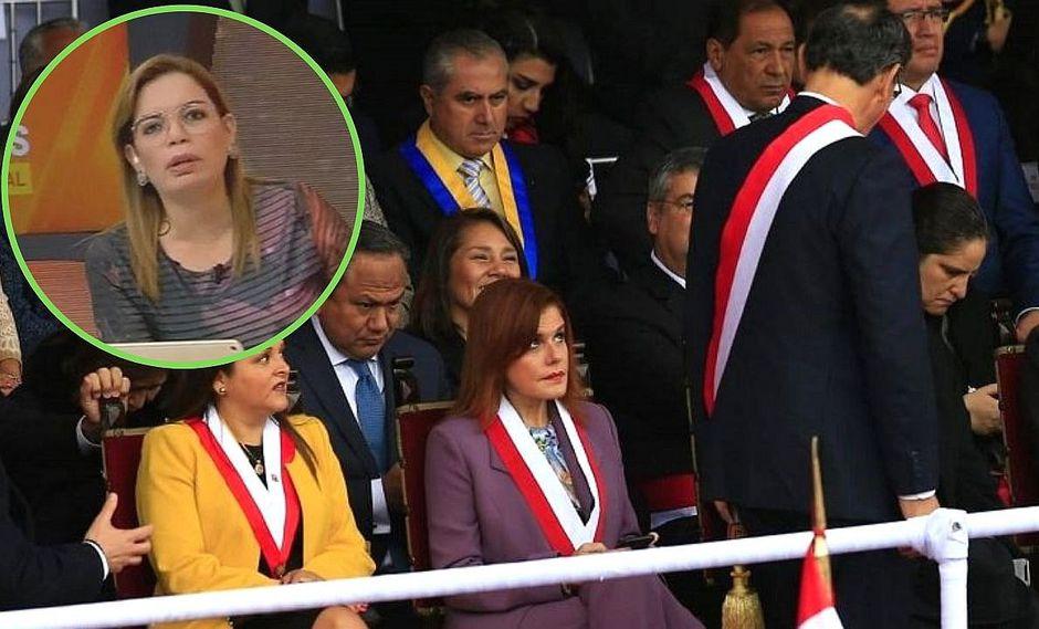 Milagros Leiva tilda de malcriado al desaire de Martín Vizcarra con Mercedes Aráoz