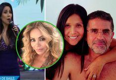 ¿Tula Rodríguez lanzó indirecta a Gisela Valcárcel cuando la retaron a teñirse de rubio?│VIDEO