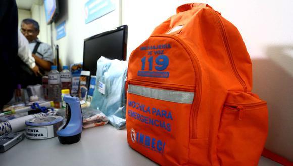 Se recomienda que el peso de la mochila no supere los 8 Kg y que tengamos una por cada dos personas. (Foto archivo GEC)