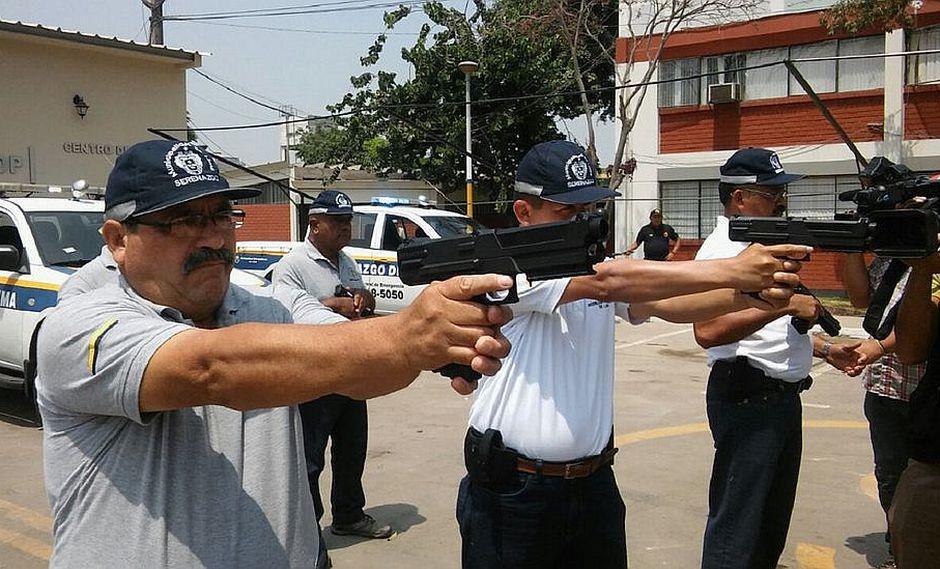 Municipalidad de Lima: Denuncia por presunta compra irregular de armas no letales